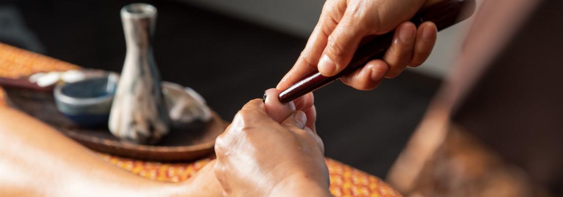 Тайский точечный массаж ступней
